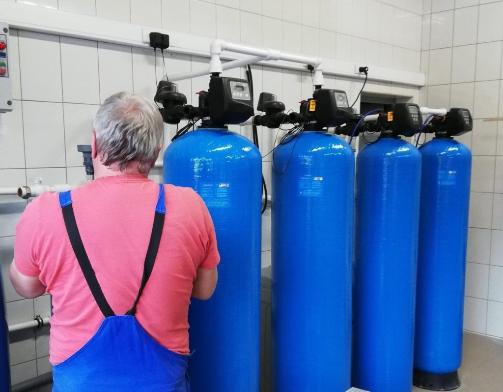 Сервиское обслуживание водоочистки